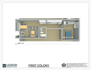 First Colony Flats Unit 114