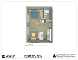 First Colony Flats Unit 115