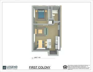 First Colony Flats Unit 116