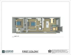 First Colony Flats Unit 117