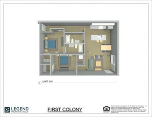 First Colony Flats Unit 118