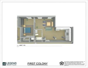 First Colony Flats Unit 119