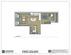 First Colony Flats Unit 121