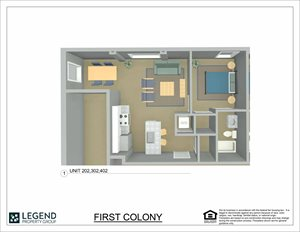 First Colony Flats Unit 402