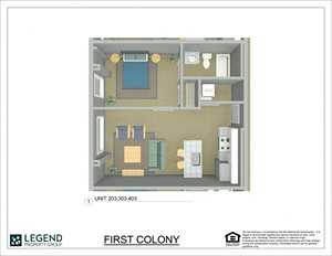 First Colony Flats Unit 203
