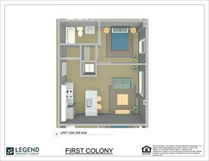 First Colony Flats Unit 204