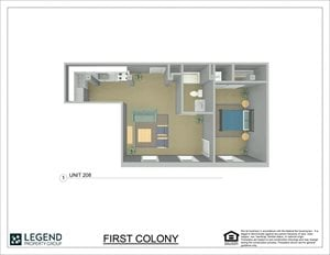 First Colony Flats Unit 208