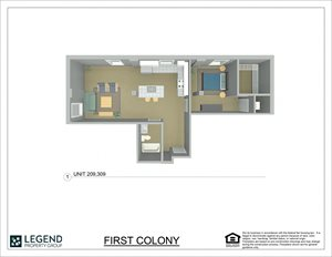 First Colony Flats Unit 209