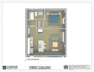 First Colony Flats Unit 304