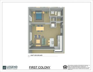 First Colony Flats Unit 405