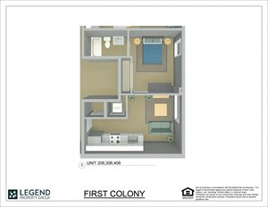 First Colony Flats Unit 406