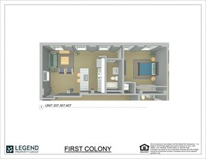 First Colony Flats Unit 407