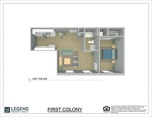 First Colony Flats Unit 408