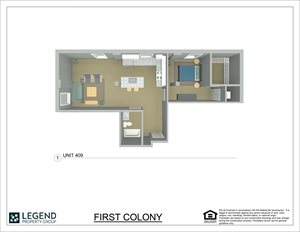 First Colony Flats Unit 409