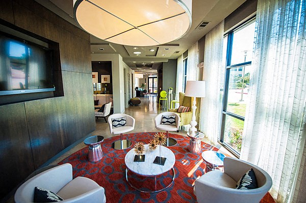 Elaborate Clubhouse with Cyber Cafe at The Encore Apartments, Plano, TX 75024