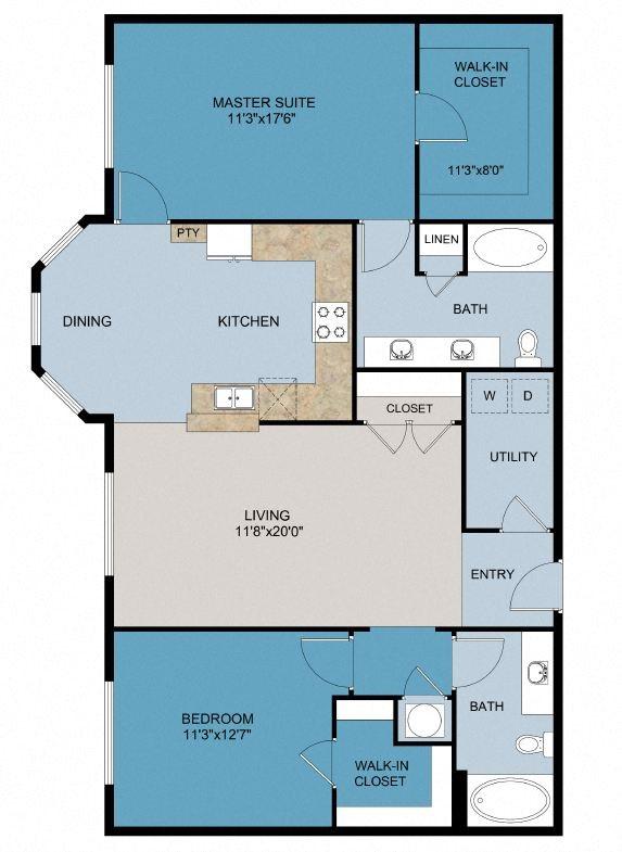 The Sundance - 3rd Floor Floor Plan 6