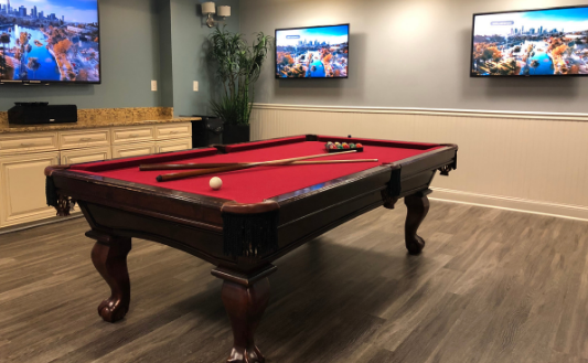 Phillips Research Park | Pool Table
