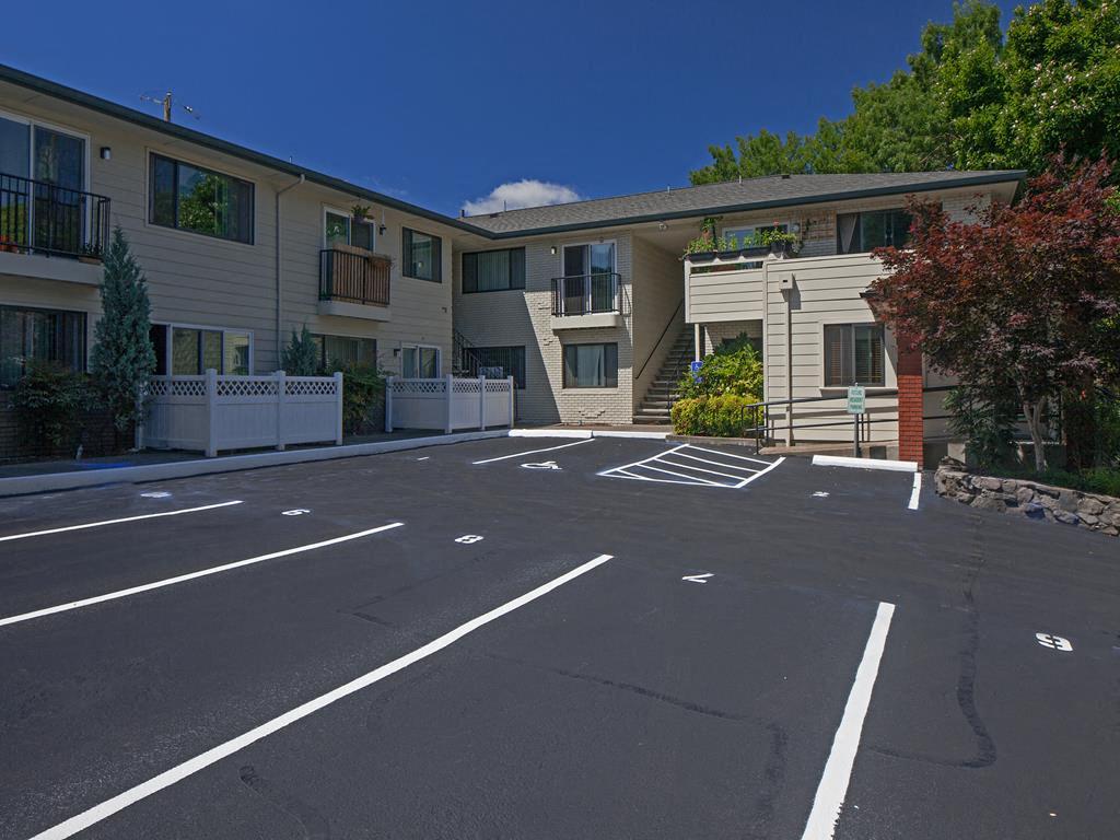 Huge Parking Space at Crown Royal, Portland, OR, 97212