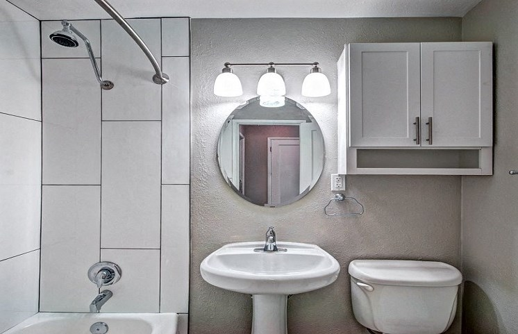 interior view of bathroom in seattle