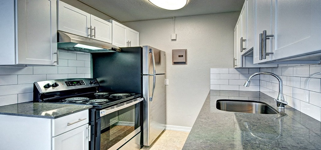 kitchen appliances for apartment unit in seattle