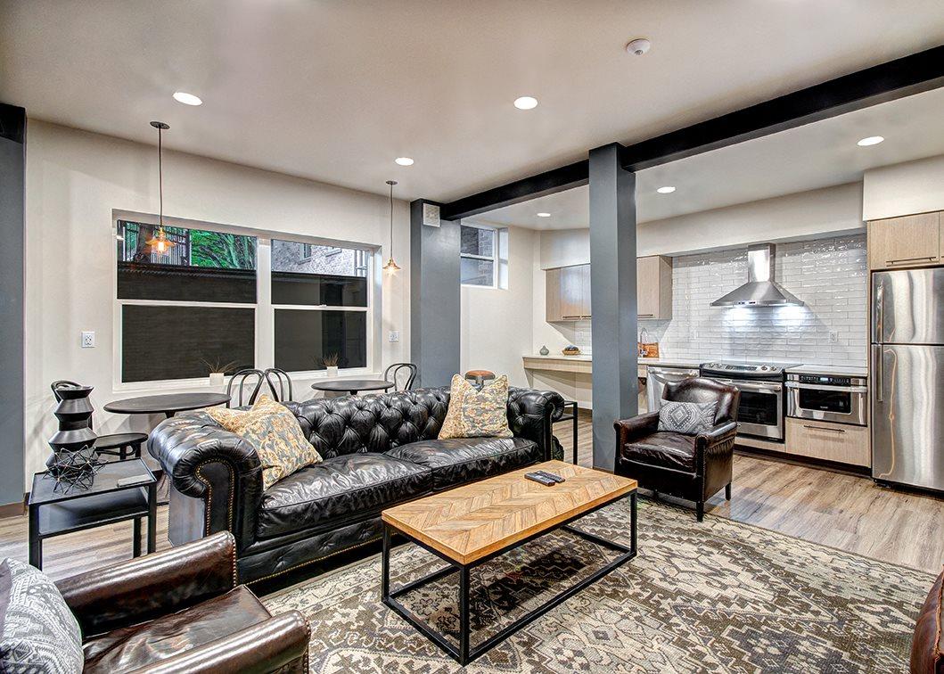 apartment interior for apartment building in seattle