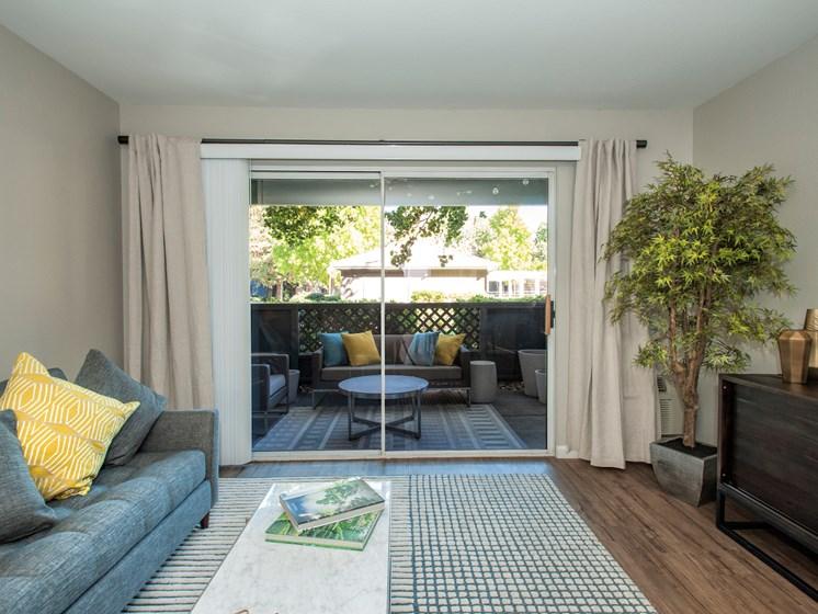 Lively Living Rooms at Sagemark, San Jose,California