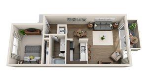 Floor plan at Sagemark, San Jose