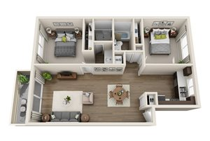Floor plan at Sagemark, San Jose, CA 95136