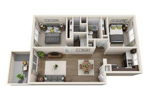 Floor plan at Sagemark, San Jose, 95136