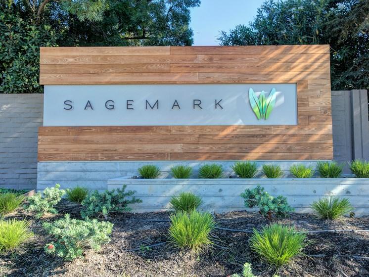Signage at Sagemark, San Jose,California