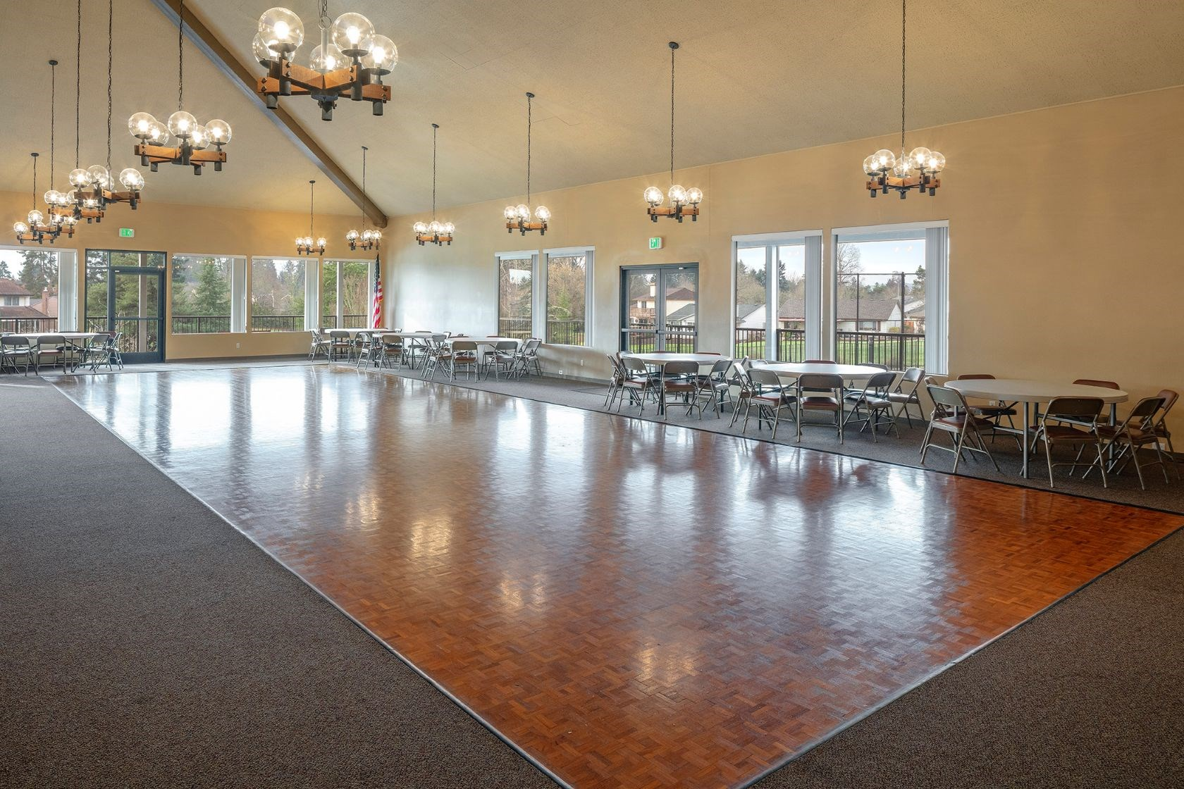 Summerfield clubhouse dance hall