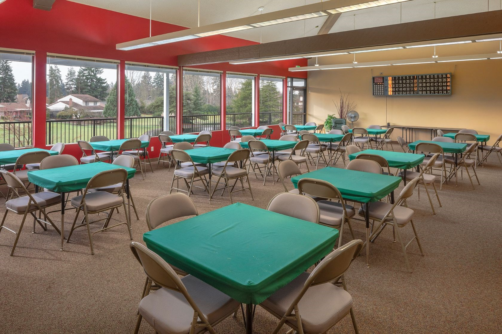 Summerfield clubhouse card room