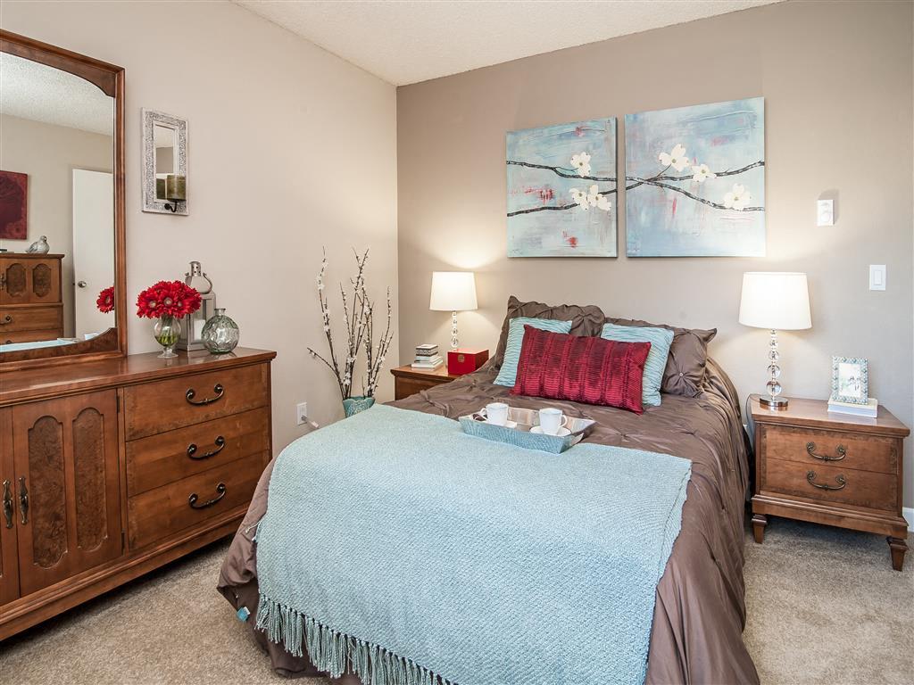 Beige Carpet in Bedroom at Summerfield, Oregon, 97224