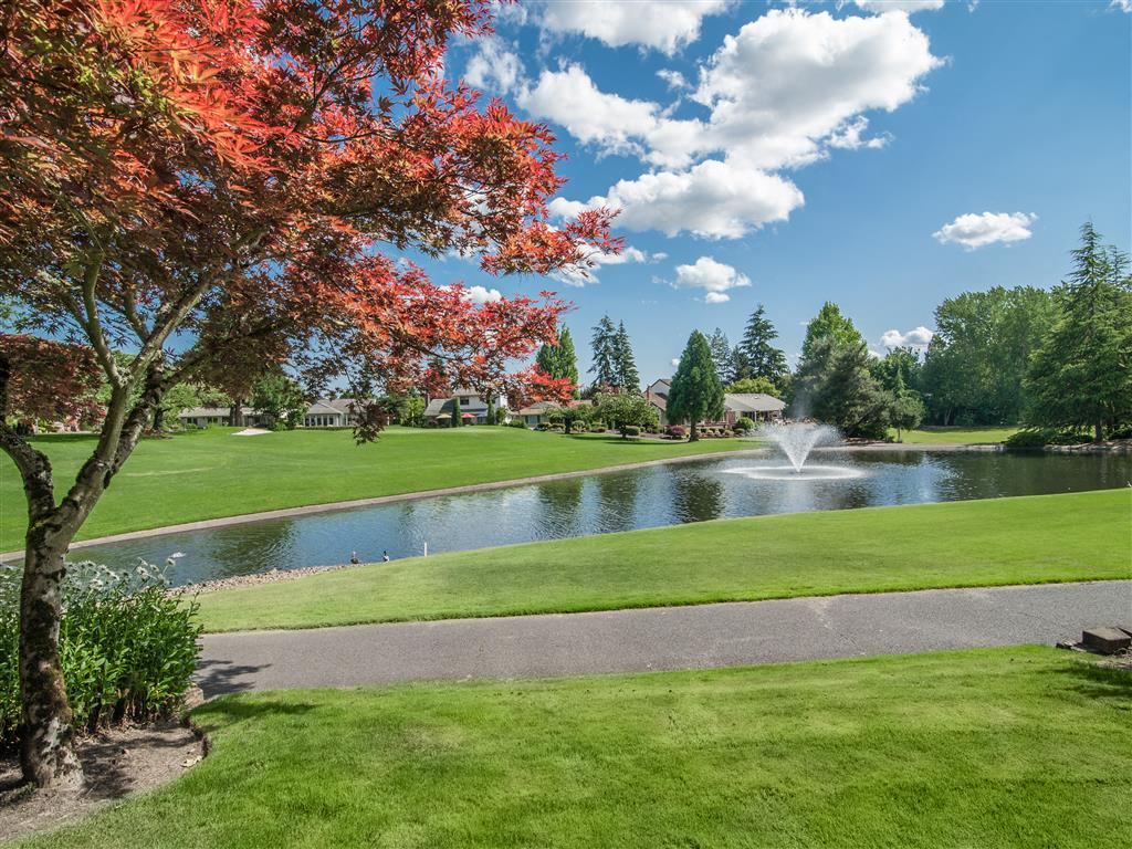 Beautiful Lake View at Summerfield, Tigard,Oregon