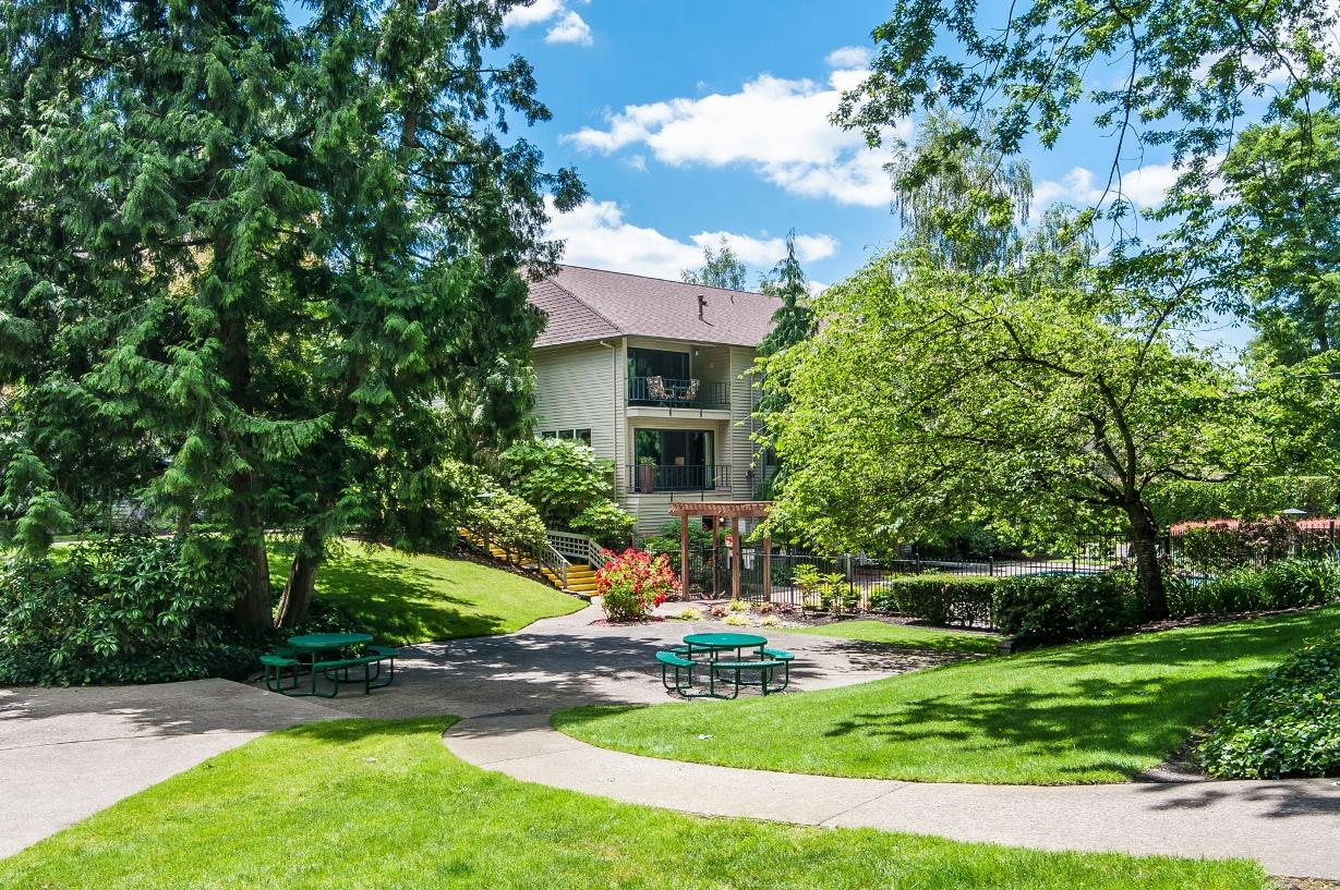 Landscaped Pathways at Garden Park, Portland, OR 97202