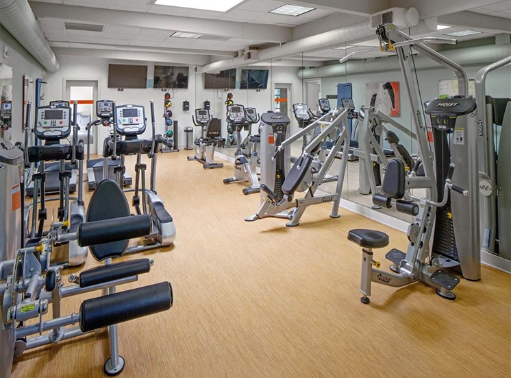 24 Hour Fitness Center at Parkridge Apartments, Oregon, 97035