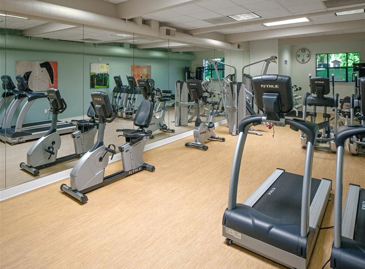 Professional Grade Fitness Center at Parkridge Apartments, Lake Oswego, OR 97035