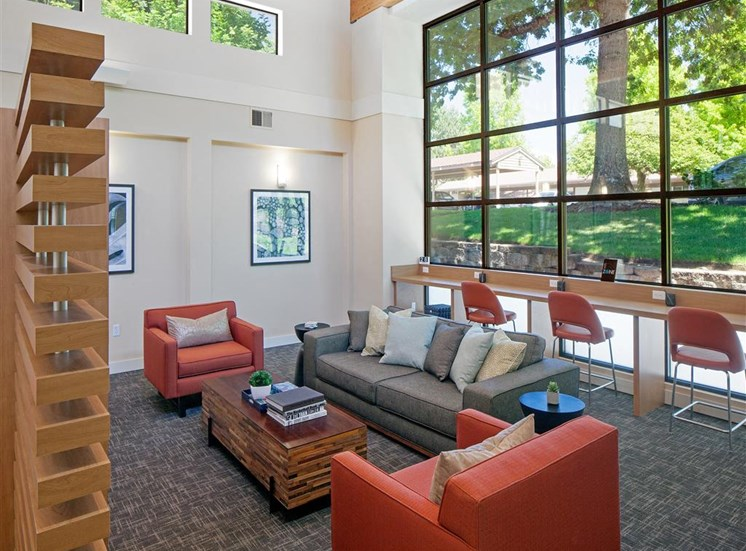 Newly Renovated Clubhouse at Parkridge Apartments, Lake Oswego, 97035