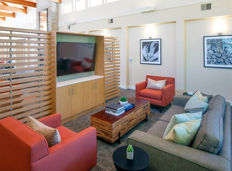 Beautifully Remodeled Clubhouse at Parkridge Apartments, Lake Oswego, Oregon