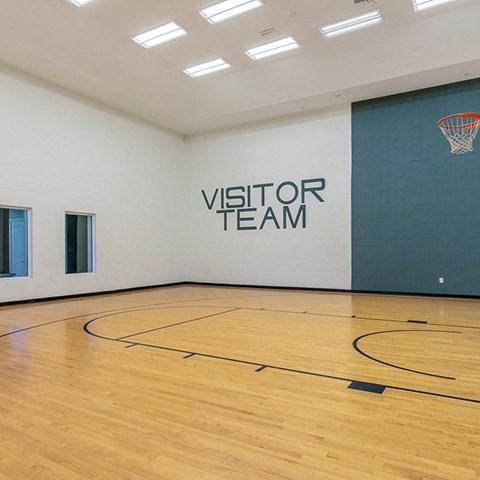 Basketball Court at Jamison at Brier Creek, Raleigh, North Carolina