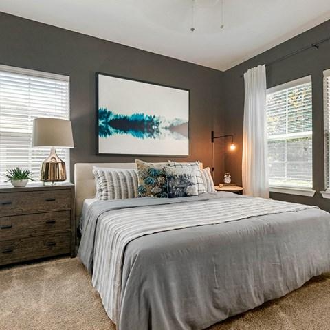 Comfortable Bedroom at Jamison at Brier Creek, North Carolina, 27617