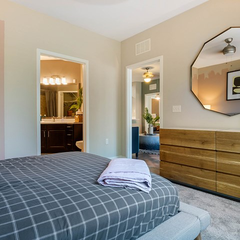 King Size Bedroom at Jamison at Brier Creek, Raleigh, 27617