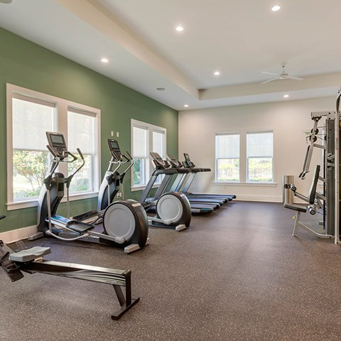 Fitness Center at Jamison at Brier Creek, Raleigh