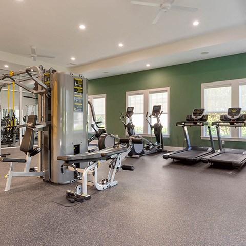 Fitness Center Access at Jamison at Brier Creek, North Carolina