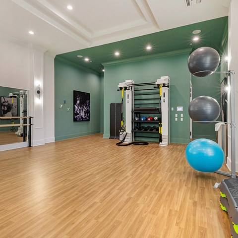 Fully Equipped Fitness Center at Jamison at Brier Creek, Raleigh, NC