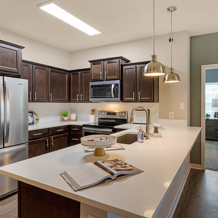 Fitted Kitchen at Jamison at Brier Creek, Raleigh, 27617