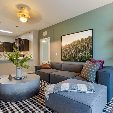 Cozy Living Room at Jamison at Brier Creek, Raleigh, NC, 27617