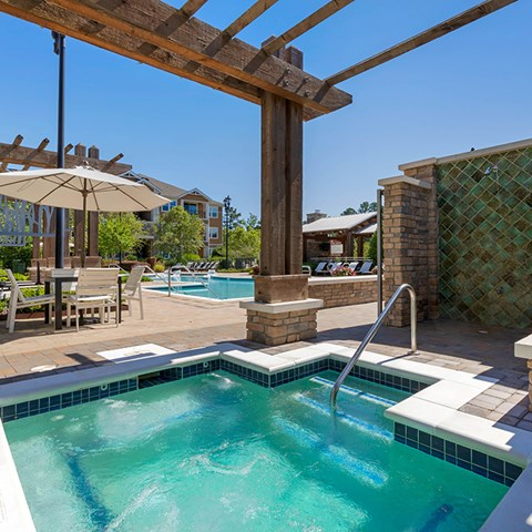 Two Pool Plazas With Sunning Decks at Jamison at Brier Creek, Raleigh, NC