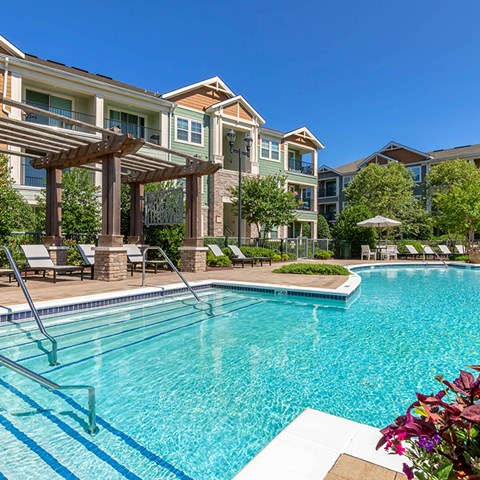 Resort-Style Pool at Jamison at Brier Creek, Raleigh, North Carolina