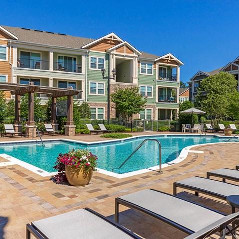 Poolside Sundeck at Jamison at Brier Creek, Raleigh